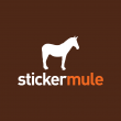 sticker mule logo